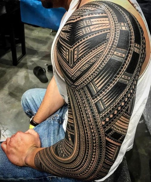 Tattoo Images Tribal: 101 Best Tribal Tattoos For Men: Cool Designs + Ideas