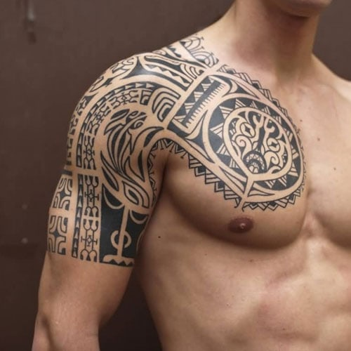 101 Best Tribal Tattoos For Men: Cool Designs + Ideas