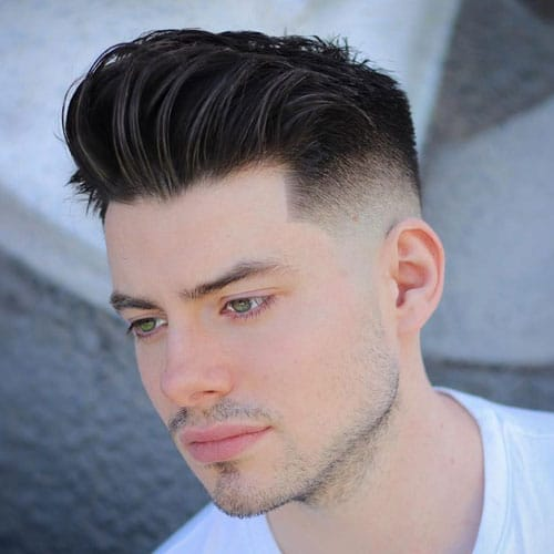 Cool Pomp Fade Haircuts