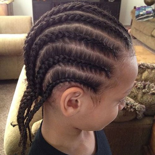 Cute Hairstyles For Boys - Braids and Cornrows