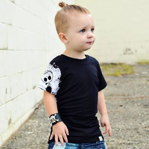 Little Boy Long Hairstyles - Updos, Baby Bun