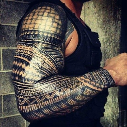Modern Tribal Tattoo Designs For Men