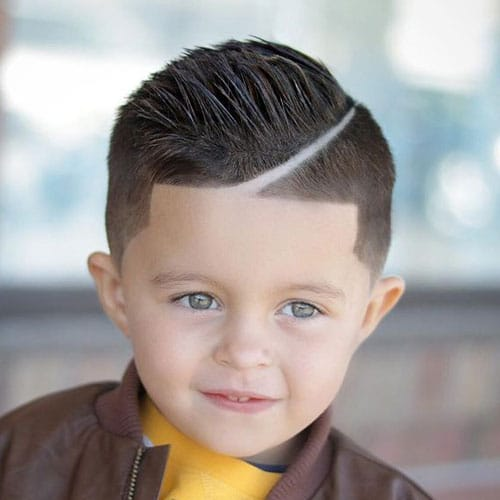 Short Hairstyles For Boys - Taper Fade + Shape Up + Hard Part + Spiky Hair