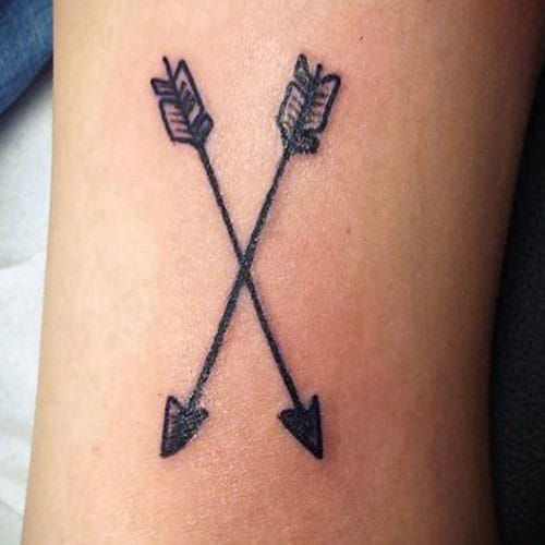 Small Arrow Tattoos For Guys