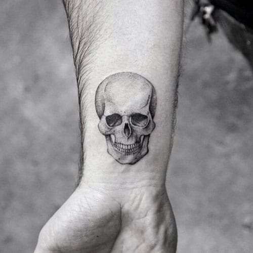 Small Skull Tattoos For Men