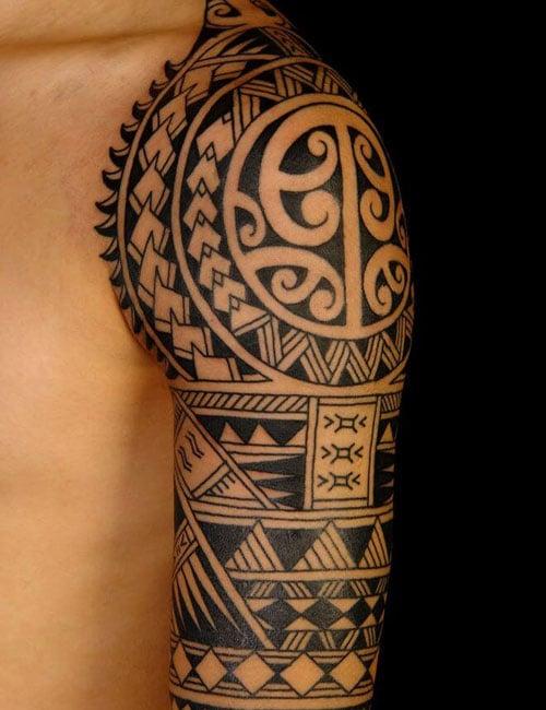 Tribal Tattoos With Symbols