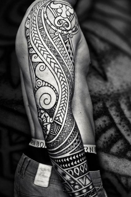 Tribal Warrior Tattoos