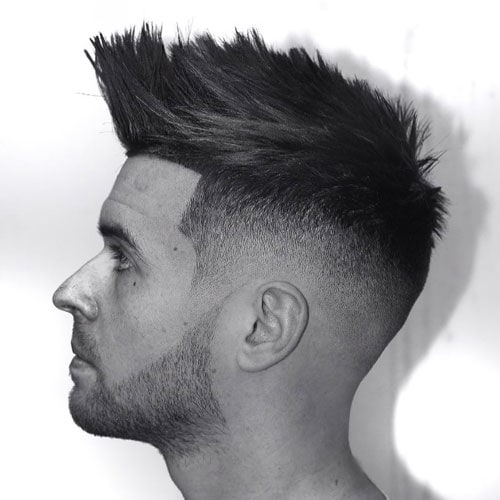 Fuck Boy Hairstyles - Faux Hawk Fade