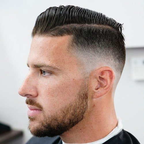 Fuckboy Hair - Comb Over Fade + Hard Part