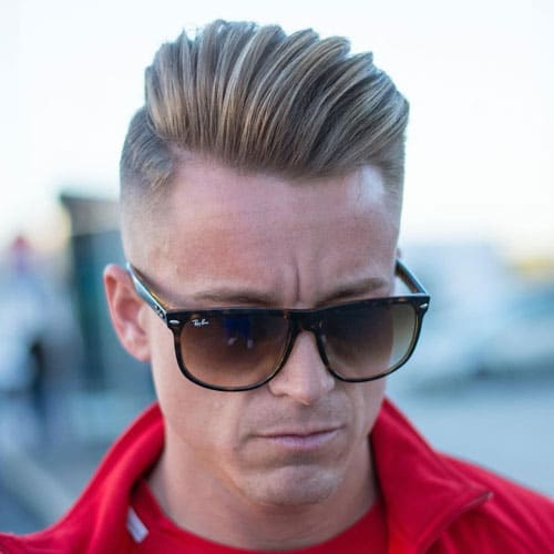 Fuckboy Hairstyle - Comb Over Undercut