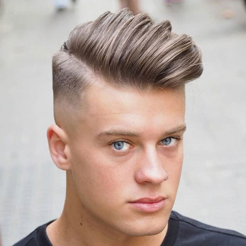 Fuckboy Hairstyle - Long Comb Over + Mid Bald Fade