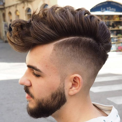 Fuckboy Hairstyles - Wavy Faux Hawk Haircut