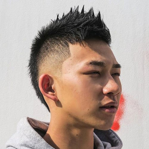 Asian Faux Hawk