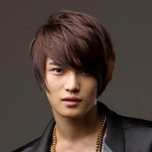 Asian Men Long Hairstyles