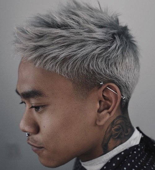 Asian Men Short Hair
