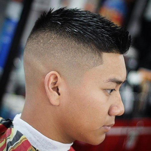 Asian Spiky Hair