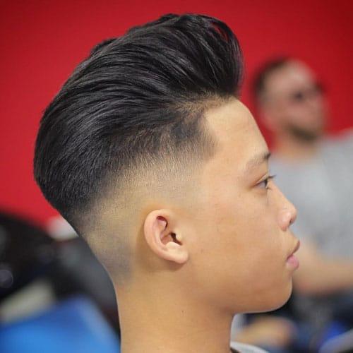 Asian Undercut Fade