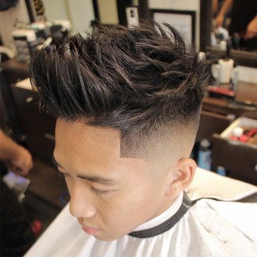 Best Asian Hairstyles For Men - Quiff