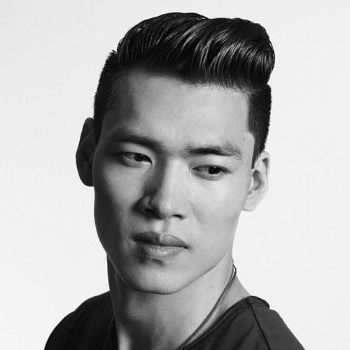 Comb Over Fade Haircuts For Asian Men