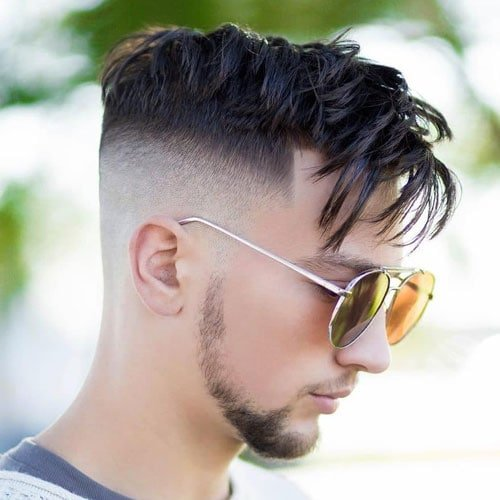 Cool Medium Length Messy Hairstyles For Men