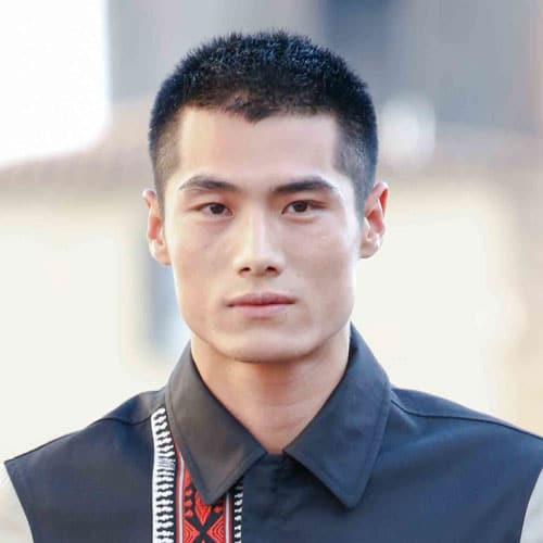 Crew Cut Asian Hair