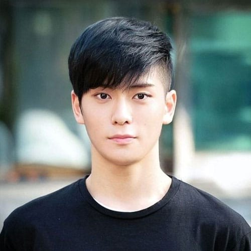 Fringe Asian Hairstyles For Men