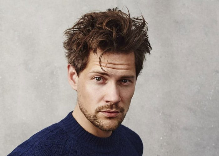 How To Get The Messy Hair Look For Guys