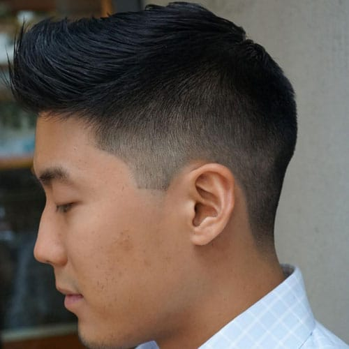 Mid Fade Asian Haircuts