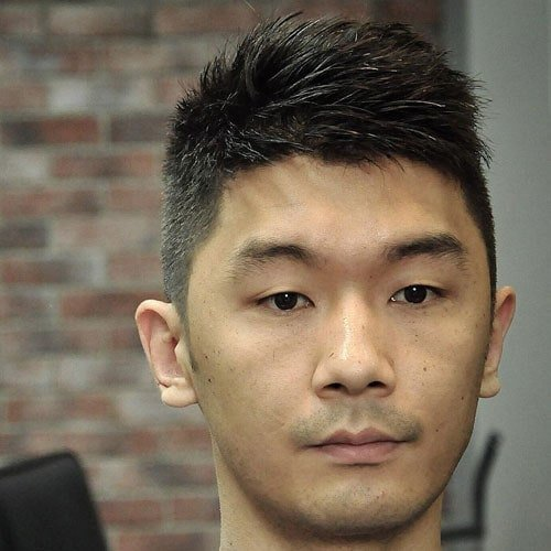 Modern Ivy League Hairstyle For Asian Men