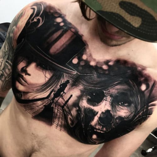 Amazing Chest Tattoo Ideas