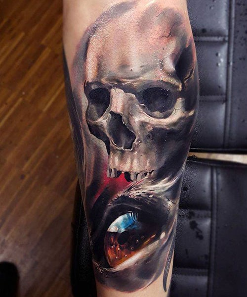 Amazing Skull Tattoo Designs For Guys