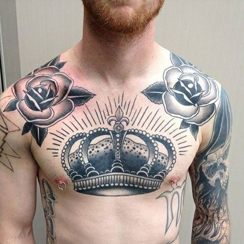 Awesome Chest Tattoo Designs For Guys