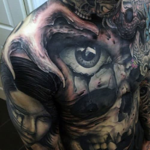 Awesome Chest Tattoos For Guys