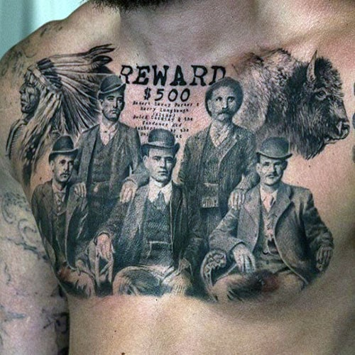 Awesome Men's Chest Tattoo Designs