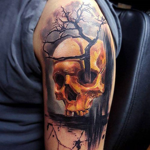Awesome Skull Arm Tattoo Ideas For Men