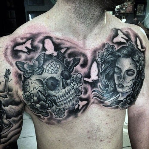 Badass Chest Tattoo Ideas