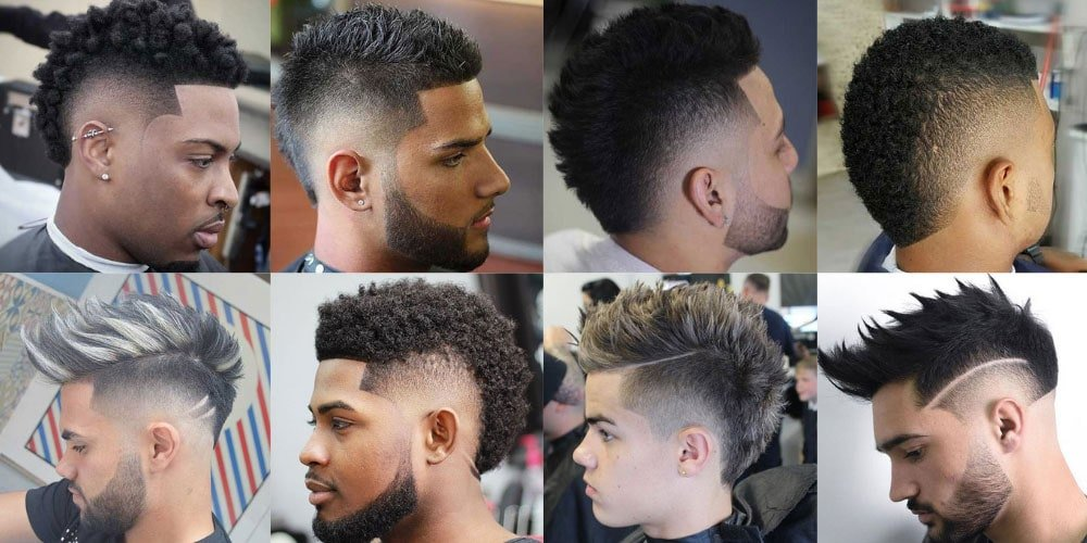 Image result for Burst Fade Haircuts
