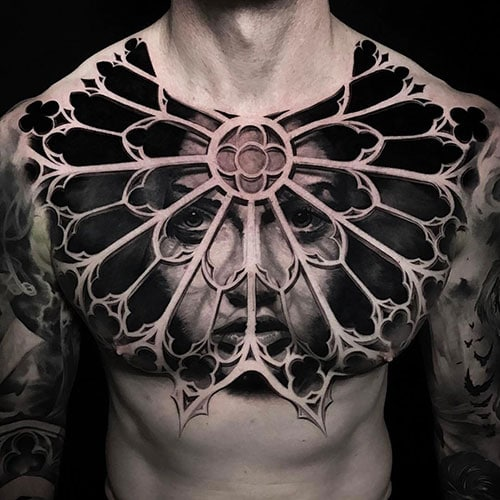 Best Chest Tattoos