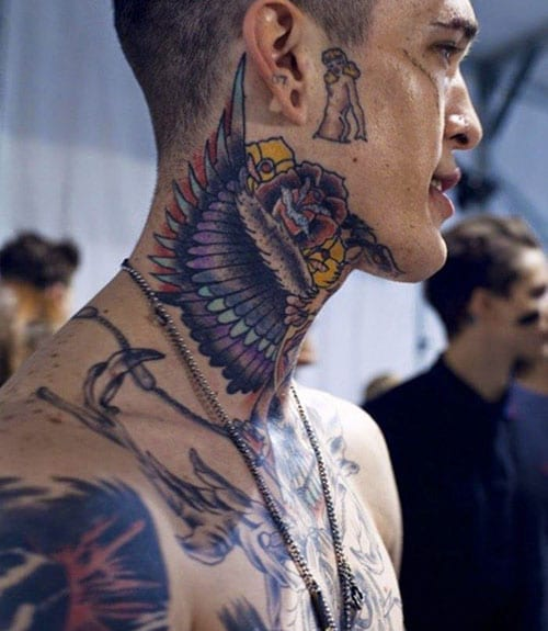 Best Full Neck Tattoos For Men