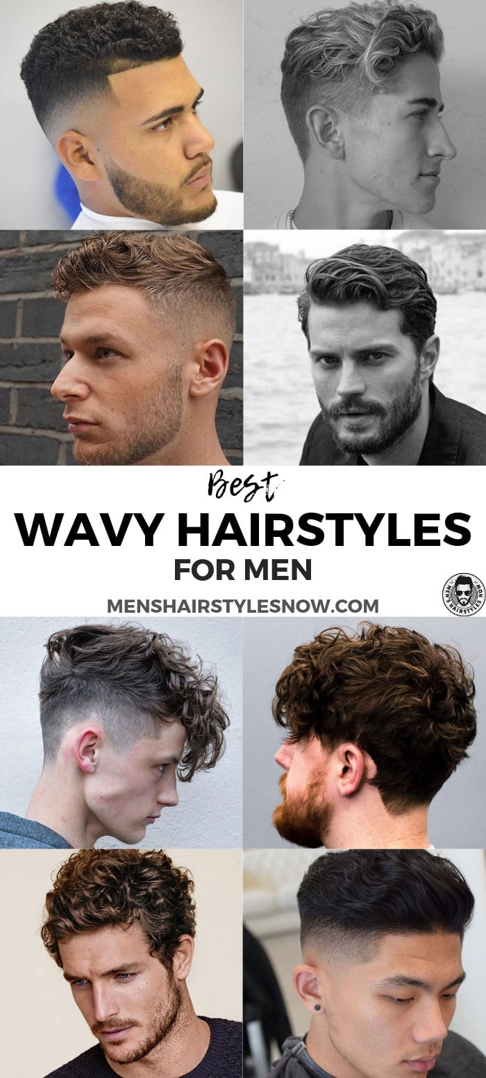 Best Men's Hairstyles for Wavy Hair