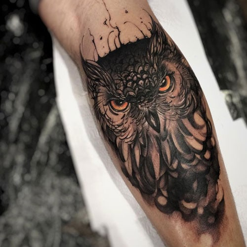 Best Owl Tattoo Designs For Men