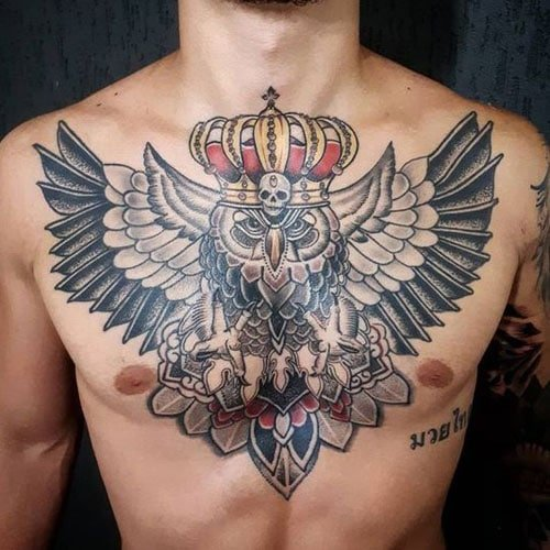 Best Owl Tattoo For Men