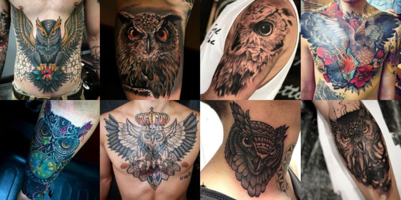 Best Owl Tattoos For Men