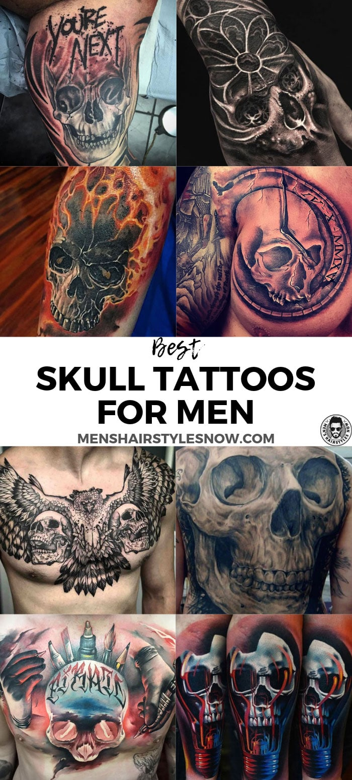 Best Skull Tattoo Designs For Men