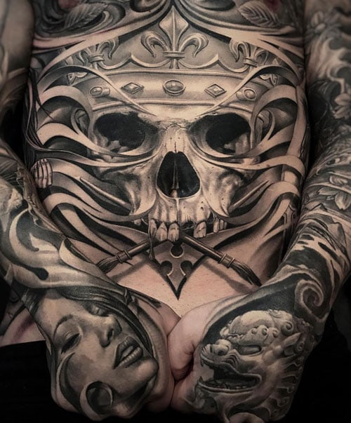 Best Skull Tattoo Ideas For Men