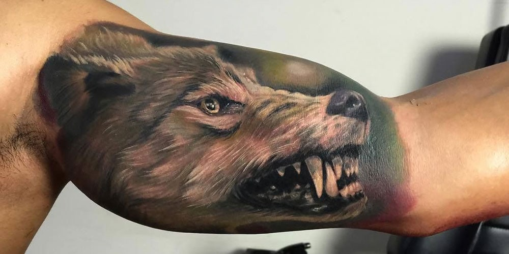 Best Wolf Tattoos For Men