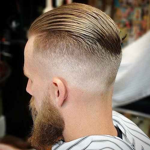 Comb Back Haircut