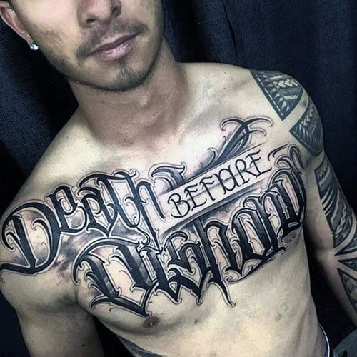 Cool Chest Tattoos
