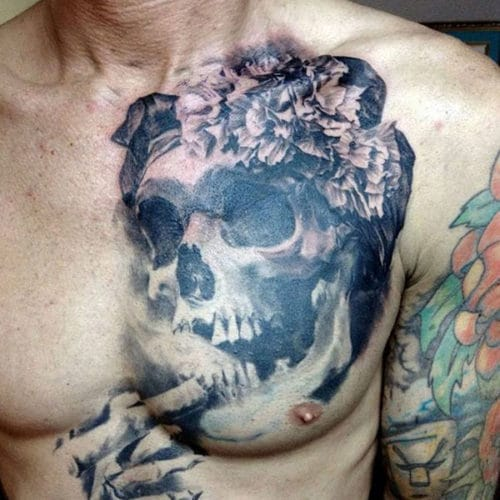 Cool Left Side Chest Tattoo Ideas
