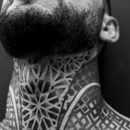 Cool Neck Tattoo Designs